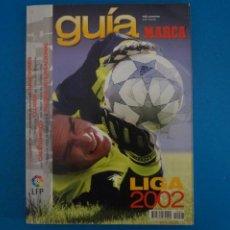 Coleccionismo deportivo: REVISTA DE FUTBOL GUIA MARCA LIGA AÑO 2001-2002/01-02. Lote 274179858