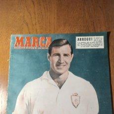 Coleccionismo deportivo: SEMANARIO MARCA N °582 1954 . AT.MADRID 6 JAÉN 1 - SANTANDER 1 R.MADRID 1. Lote 275065663