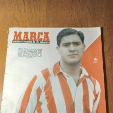 Coleccionismo deportivo: SEMANARIO MARCA N °588.1954. AT.MADRID 4 OSASUNA 1 - R.SOCIEDAD 3 R.MADRID 6. BARCELONA 2 BILBAO 0. Lote 275110823
