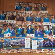 Collezionismo sportivo: CARTULINAS REAL OVIEDO 97/98. Lote 275501053