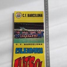 Coleccionismo deportivo: CALENDARIO POSTALES F. C. BARCELONA 1972 PLANTILLA. Lote 276119118