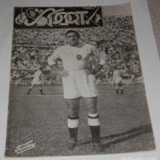 Collezionismo sportivo: REVISTA SPORT DEL CLUB FUTBOL VALENCIA Nº 28 DEL AÑO 1955. Lote 276172543