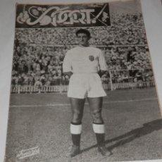 Collezionismo sportivo: REVISTA SPORT DEL CLUB FUTBOL VALENCIA Nº 25 DEL AÑO 1955. Lote 276172658