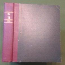 Coleccionismo deportivo: REVISTA DE FUTBOL EL ONCE - AÑO IX - 1953 - COMPLETO - 52 NUMEROS, 417 AL 468 + ALMANAQUE 1954. Lote 276607228
