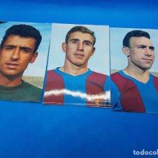 Coleccionismo deportivo: LOTE DE 3 POSTALES DEL FC BARCELONA EDITORIAL BERGAS SADURNÍ REIXACH Y RIFE A401. Lote 276732358