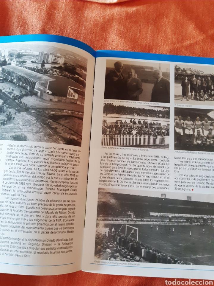 Coleccionismo deportivo: Revista inauguración Carlos Tartiere 2001 - Foto 2 - 276941478