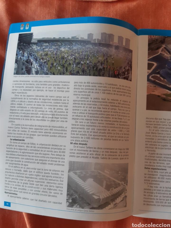 Coleccionismo deportivo: Revista inauguración Carlos Tartiere 2001 - Foto 3 - 276941478