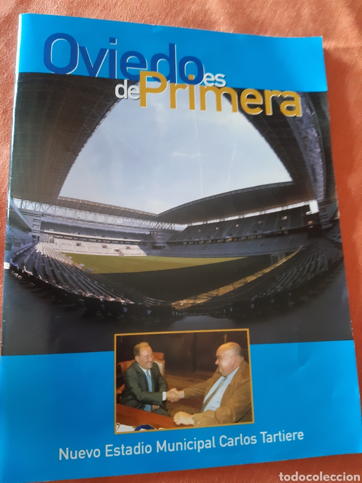 REVISTA INAUGURACIÓN CARLOS TARTIERE 2001 (Coleccionismo Deportivo - Revistas y Periódicos - otros Fútbol)