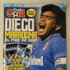 Coleccionismo deportivo: REVISTA FRANCESA ''FOOT GOAL'' - ESPECIAL DIEGO ARMANDO MARADONA. Lote 277668443