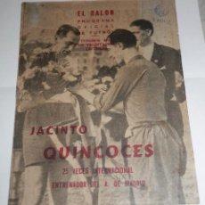 Coleccionismo deportivo: ANTIGUA REVISTA EL BALON -- AÑOS 50/60. Lote 278436858