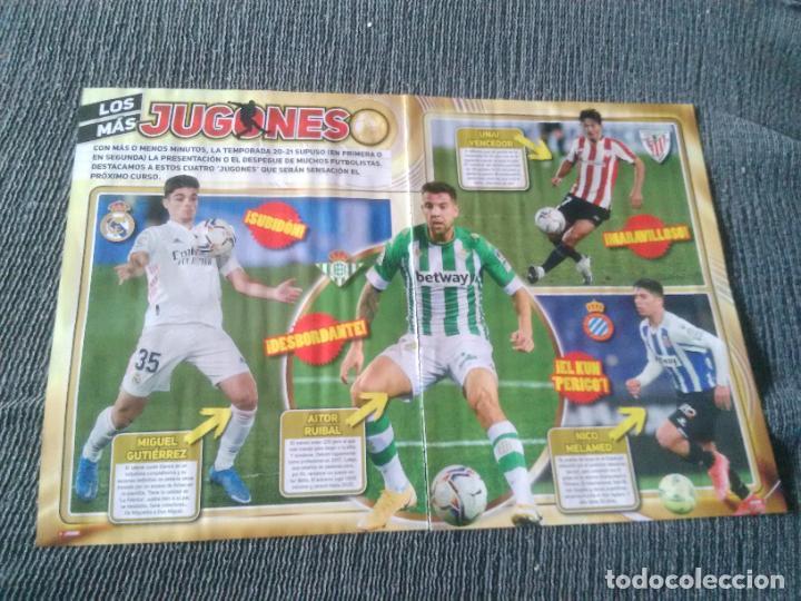 JUGONES MIGUEL GUTIERREZ RUIBAL UNAI VENCEDOR NICO MELAMED REPORTAJE 2 PÁG REVISTA ANSU FATI PEDRI (Coleccionismo Deportivo - Revistas y Periódicos - otros Fútbol)