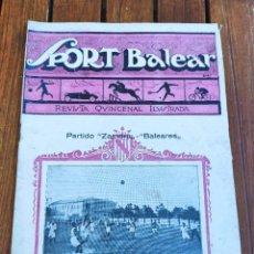 Coleccionismo deportivo: SPORT BALEAR. REVISTA QUINCENAL ILUSTRADA. PALMA DE MALLORCA, 1925. Lote 279385168