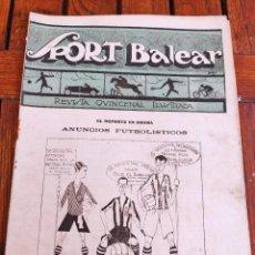Coleccionismo deportivo: SPORT BALEAR. REVISTA QUINCENAL ILUSTRADA. PALMA DE MALLORCA, 1925. Lote 279402123