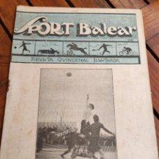 Coleccionismo deportivo: SPORT BALEAR. REVISTA QUINCENAL ILUSTRADA. PALMA DE MALLORCA, 1925. Lote 279403298