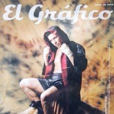 Coleccionismo deportivo: REVISTA EL GRAFICO 4433 AÑO 2013 BOXEO MARAVILLA MARTINEZ - MESSI - AGUERO - POSTER MARADONA 86. Lote 280110308