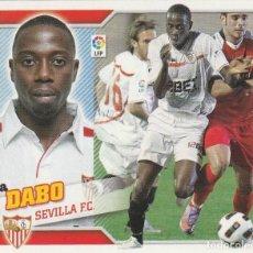 Coleccionismo deportivo: 2010 2011 ED.ESTE FICHAJE 12 DABO DEL SEVILLA NUEVO. Lote 280119308