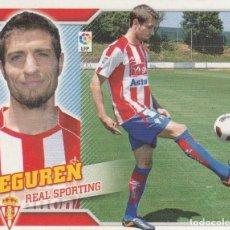 Coleccionismo deportivo: 2010 2011 ED.ESTE FICHAJE 16 EGUREN DEL SPORTING DE GIJON. NUEVO. Lote 280119758