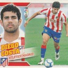Coleccionismo deportivo: 2010 2011 ED.ESTE FICHAJE 38 DIEGO COSTA DEL ATLETICO DE MADRID. NUEVO. Lote 280119908