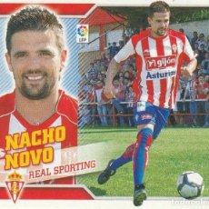 Coleccionismo deportivo: 2010 2011 ED.ESTE FICHAJE 3 NACHO NOVO DEL SPORTING DE GIJON. NUEVO. Lote 280120473