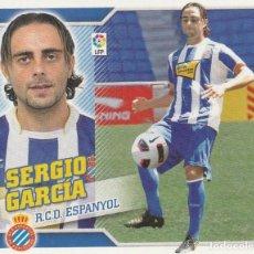 Coleccionismo deportivo: 2010 2011 ED.ESTE FICHAJE 50 SERGIO GARCIA DEL ESPANYOL. NUEVO. Lote 280120563