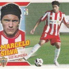 Coleccionismo deportivo: 2010 2011 ED.ESTE FICHAJE 25 MARCELO SILVA DEL ALMERIA. NUEVO. Lote 280120913