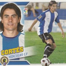 Coleccionismo deportivo: 2010 2011 ED.ESTE FICHAJE 28 CORTES DEL HERCULES. NUEVO. Lote 280121093