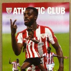 Coleccionismo deportivo: ATHLETIC CLUB N° 69 (2021). REVISTA OFICIAL. HERMANOS WILLIAMS, PETXARROMAN, RESIDENCIA LEZAMA,…. Lote 285614123
