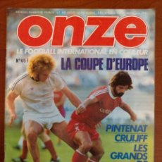 Coleccionismo deportivo: REVISTA FRANCESA ONZE DE 1976. Lote 286062473