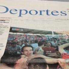 Colecionismo desportivo: DEPORTES SUPLEMENTO DIARIO DE SORIA COMPLETO 21-6-1999 GRACIAS NUMANCIA ASCENSO A PRIMERA. Lote 286644313