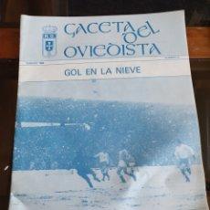 Collectionnisme sportif: GACETA DEL OVIEDISTA REAL OVIEDO 1988. Lote 287081383