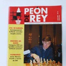 Coleccionismo deportivo: REVISTA PEON DE REY Nº 21. AGOSTO 2003. BAREEV SE REAFIRMA EN LA ELITE. AJEDREZ. TDKC117. Lote 287854528