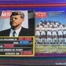 Coleccionismo deportivo: LOS DOMINGOS DE ABC REAL MADRID LIVERPOOL FINAL COPA EUROPA 1981 GACETA ILUSTRADA ALFREDO DI STEFANO. Lote 288023993