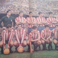 Coleccionismo deportivo: LOS DOMINGOS DE ABC (8-6-1969) HISTORIA DEL ATLETICO MADRID POSTER VICENTE CALDERON ROCIO DURCAL. Lote 288322958