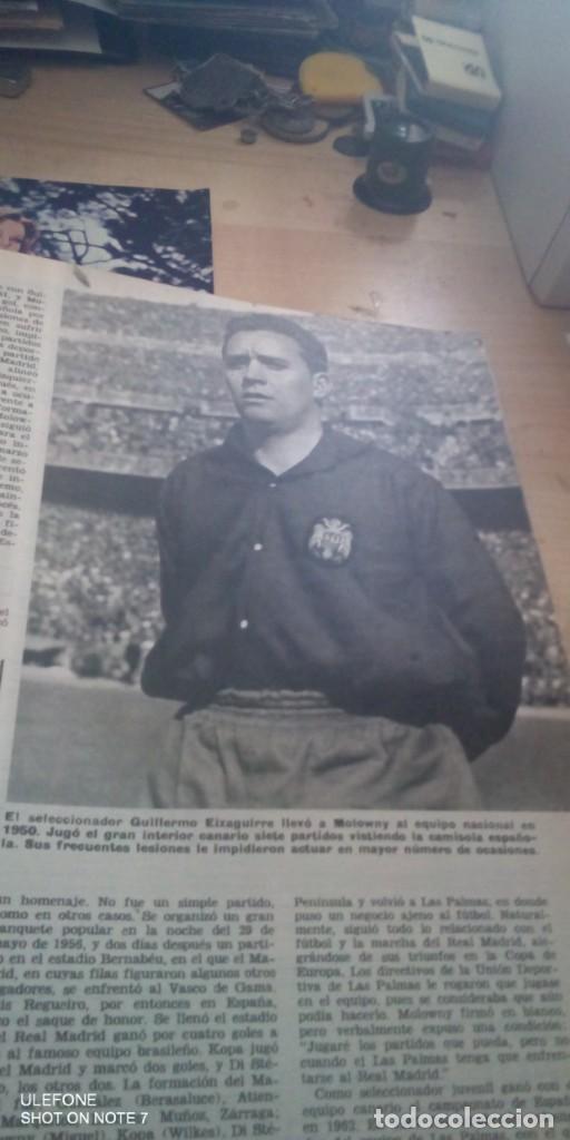 Coleccionismo deportivo: reportaje de luis molowny en revista de abc de 1969 - Foto 2 - 288323963