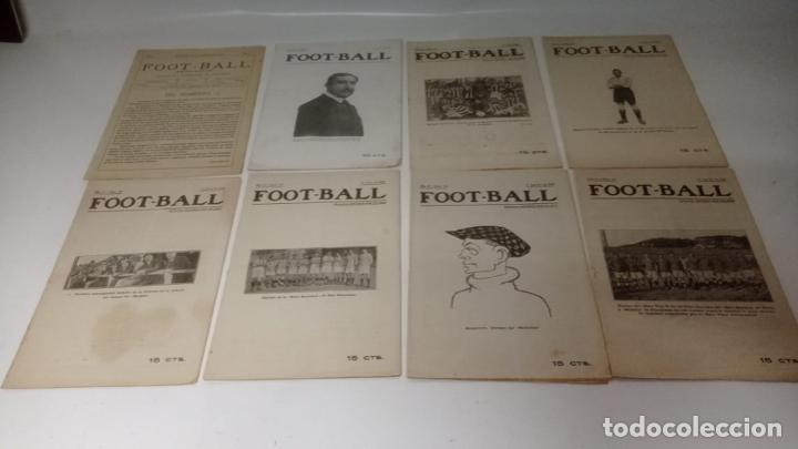 Coleccionismo deportivo: LOTE DE 12 REVISTAS DE FOOT-BALL - FUTBOL - Foto 2 - 288335248
