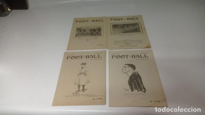 Coleccionismo deportivo: LOTE DE 12 REVISTAS DE FOOT-BALL - FUTBOL - Foto 3 - 288335248
