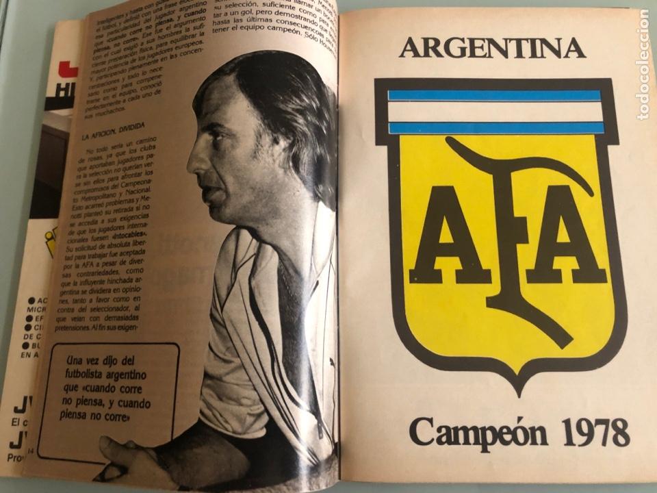 Coleccionismo deportivo: 1982 Maradona Mundial España incluye poster - Foto 2 - 288348593