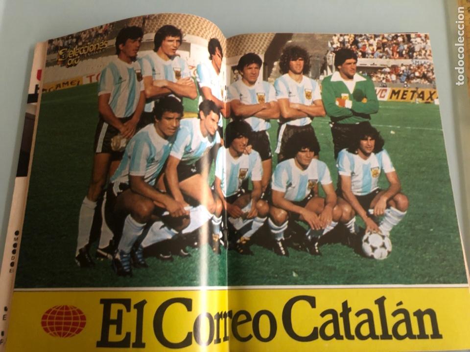 Coleccionismo deportivo: 1982 Maradona Mundial España incluye poster - Foto 3 - 288348593