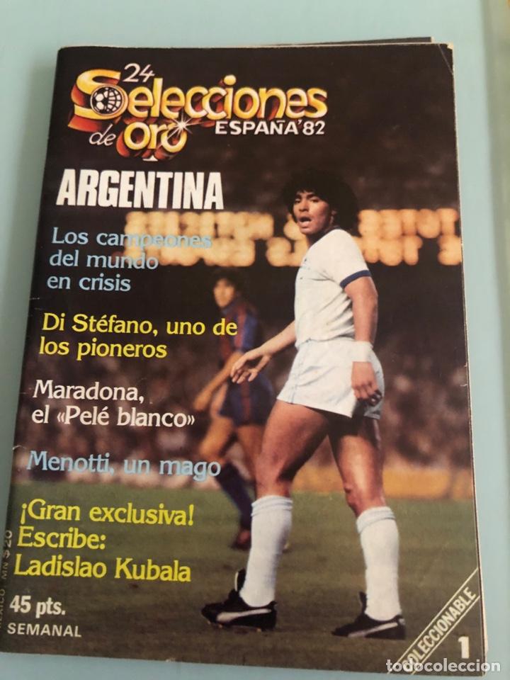 1982 MARADONA MUNDIAL ESPAÑA INCLUYE POSTER (Coleccionismo Deportivo - Revistas y Periódicos - otros Fútbol)