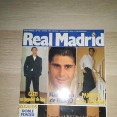 Coleccionismo deportivo: REVISTA REAL MADRID - Nº 105 - OCTUBRE 1998. Lote 288534268
