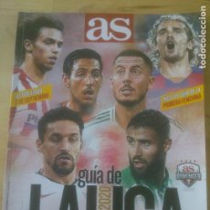 Coleccionismo deportivo: AS GUÍA DE LA LIGA 2019-2020. Lote 288626518