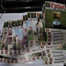 Coleccionismo deportivo: LOTE REVISTA FUTBOL HISTORIA DE LA LIGA 37 NUMEROS. Lote 288723818