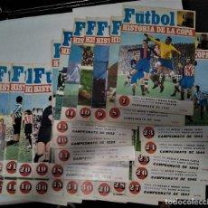 Coleccionismo deportivo: LOTE REVISTA FUTBOL HISTORIA DE LA LIGA 27 NUMEROS. Lote 288724538