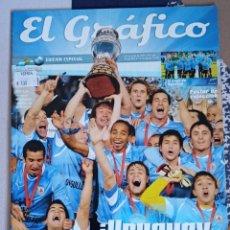 Coleccionismo deportivo: REVISTA EL GRÁFICO, EDICIÓN ESPECIAL. URUGUAY CAMPEÓN COPA AMÉRICA 2011 NÚMERO 318. Lote 288731458