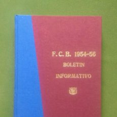 Coleccionismo deportivo: COLECCION DE LOS 15 PRIMEROS BOLETINES DEL BARÇA - 1954 -1956 - CLUB DE FUTBOL BARCELONA. Lote 288863578