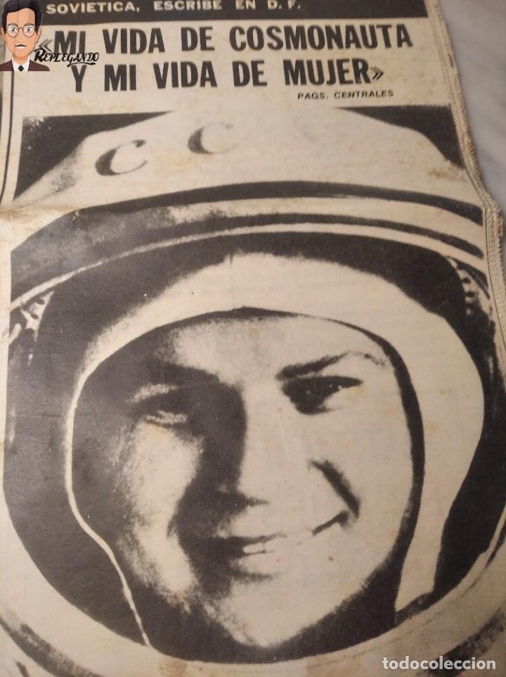 Coleccionismo deportivo: VALENTINA TERESCHCOVA - DIARIO FEMENINO Nº 239 - (3 DE AGOSTO 1969) - GAVIOTA (AÑOS 60) - Foto 2 - 288927873