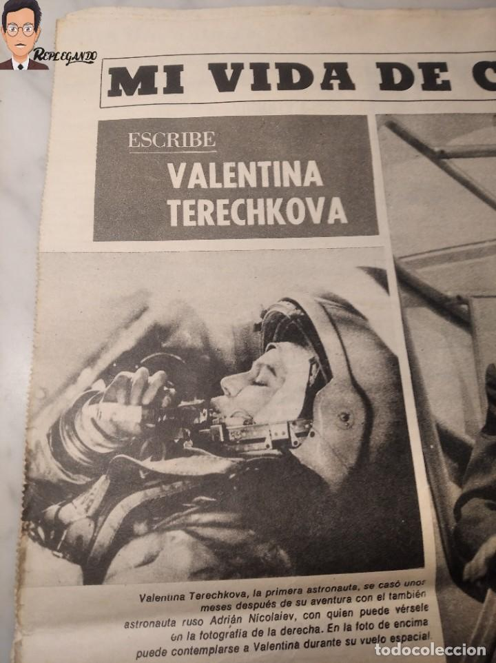 Coleccionismo deportivo: VALENTINA TERESCHCOVA - DIARIO FEMENINO Nº 239 - (3 DE AGOSTO 1969) - GAVIOTA (AÑOS 60) - Foto 6 - 288927873