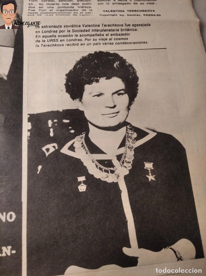 Coleccionismo deportivo: VALENTINA TERESCHCOVA - DIARIO FEMENINO Nº 239 - (3 DE AGOSTO 1969) - GAVIOTA (AÑOS 60) - Foto 7 - 288927873