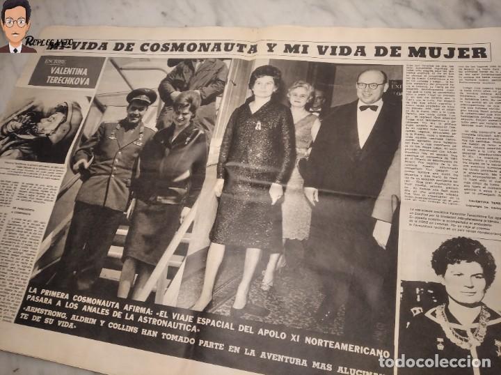 Coleccionismo deportivo: VALENTINA TERESCHCOVA - DIARIO FEMENINO Nº 239 - (3 DE AGOSTO 1969) - GAVIOTA (AÑOS 60) - Foto 8 - 288927873