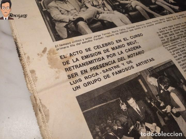 Coleccionismo deportivo: VALENTINA TERESCHCOVA - DIARIO FEMENINO Nº 239 - (3 DE AGOSTO 1969) - GAVIOTA (AÑOS 60) - Foto 10 - 288927873